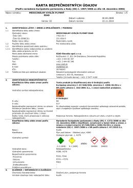 Medicinálny Kyslík plynný - SIAD Slovakia spol. s ro