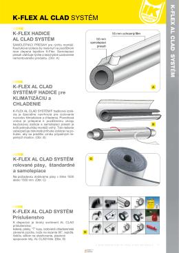 K-FLEX AL CLAD SYSTÉM