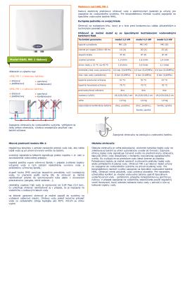 tlakový elektrický prietokový ohrievač vody s elektronickým