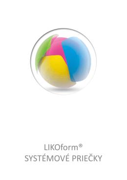 Prospekt LIKOform - LIKO-S