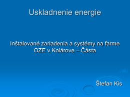 Systém na uskladnenie energie VRB-ESS