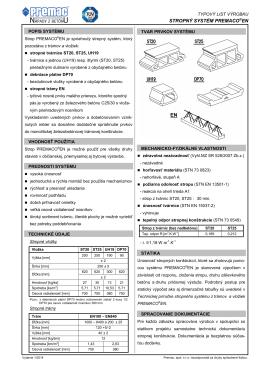 01TL - Stropný systém PREMACO EN-1