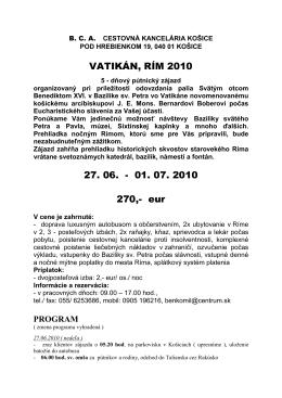 Rím 29-6-10