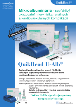 QuikRead U-Alb® - Konex Medik spol. s r. o.