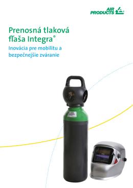Prenosná tlaková fľaša Integra®