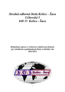 hodnotiaca sprava 2012-2013