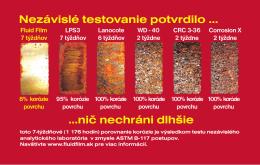 Hrdza 1:Hrdza - Fluid Film Slovensko