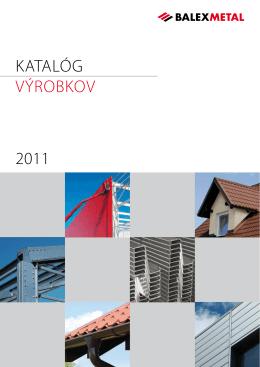 2011 KATALÓG VýROBKOV