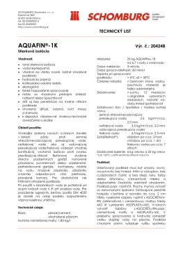 AQUAFIN®-1K