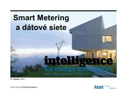 Smart Metering a dátové siete