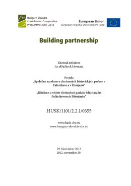 Zborník referátov (PDF) - HU