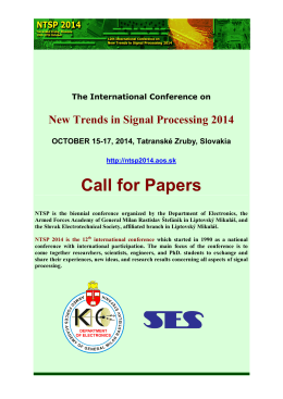 International Scientific Conference