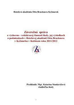 Záv.správa za 2011-2012 HA OB KK