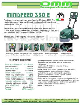 OMM 350E v PDF