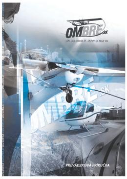 Prevádzková príručka OMBRE