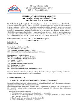 PDF - Stredná odborná škola Považská Bystrica