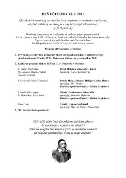 Deň učiteľov v Martine (pdf, veľkosť:207.9 kB)