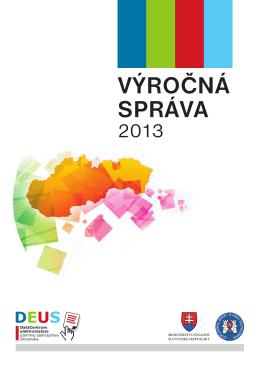 Výročná správa 2013