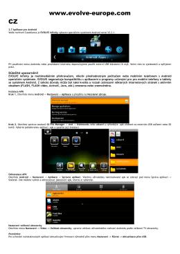 www.evolve-europe.com CZ