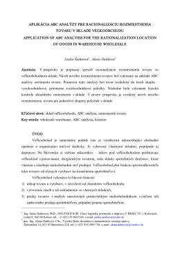 Janka Šaderová 1 , Alena Daňková 2