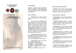 Ponuka_JT_2011.pdf - Jaskyniarska Skupina Tisovec