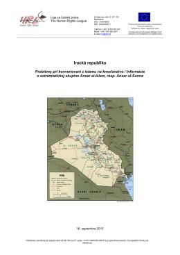 Iracká republika - Liga za ľudské práva