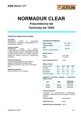 NORMADUR CLEAR