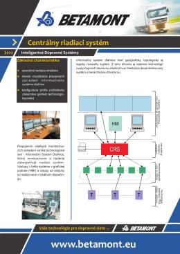 Centrálny riadiaci systém