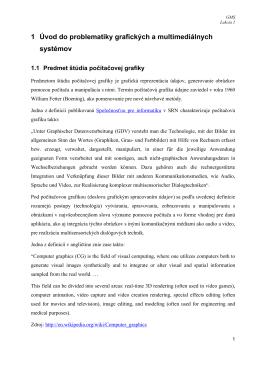 Procedurálne a objektovo orientované programovanie (zhrnutie)