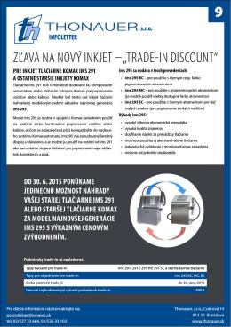 Infoletter 9 - thonauer.sk