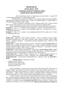 Hnúšťanský akord 2014/2015