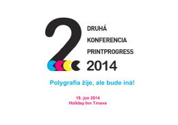 Ponuka spolupráce Printprogress 2014