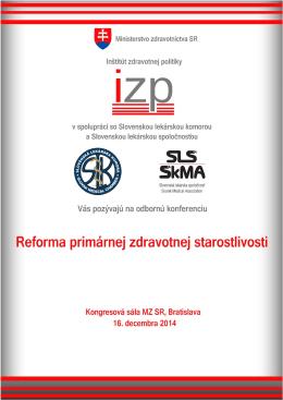 Konferencia-Pozvanka - Slovenská lekárska spoločnosť