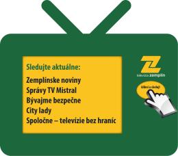 Sledujte aktuálne: Zemplínske noviny Správy TV Mistral Bývajme