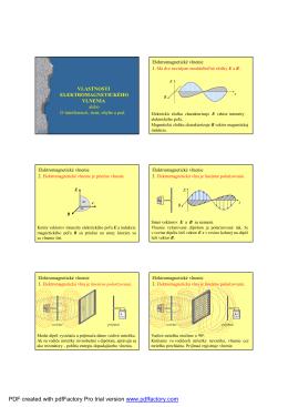 05-Vlastnosti elektromagnetickeho vlnenia