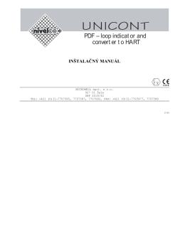Manuál - MICROWELL spol. s ro
