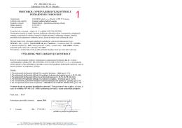 protokol o prevádzkovej kontrole požiarneho vodovodu výsledok
