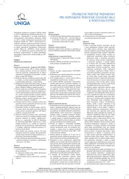 VPP Celne sklo 12.indd - Povinné zmluvné poistenie