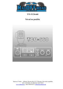 Vysielačka CB TTI 660.docx