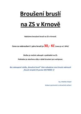info ZDE... - Technické služby Krnov