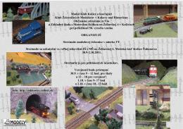 Modul Klub Košice a hosťujúci Klub Železničných Modelárov v