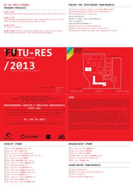 konferencie fUtU-res