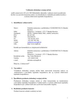 Vyhlásenie OVS.pdf - FNsP FD Roosevelta