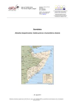 Somálsko - Liga za ľudské práva