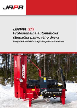 375 Profesionálna automatická štiepačka palivového dreva