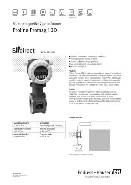 Proline Promag 10D - E