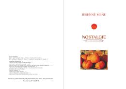 Tekvicové menu internet 2012