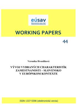 Súbor na stiahnutie - Ekonomický ústav SAV