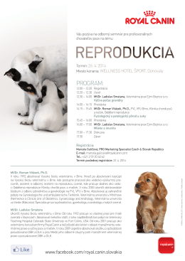 PROGRAM: - bullterrier club slovakia