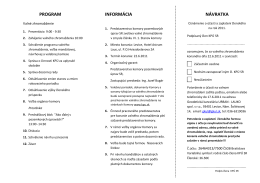 pozvánka - Komora pozemkových úprav SR